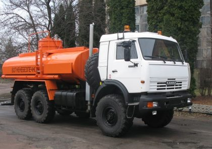 Trucks for transportation of oil products