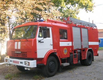Emergency rescue trucks