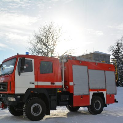 """The LLC """"IC """"POZHMASHINA"""" has transferred the first batch of fire tankers АЦ-4-60(5309)-505М"""