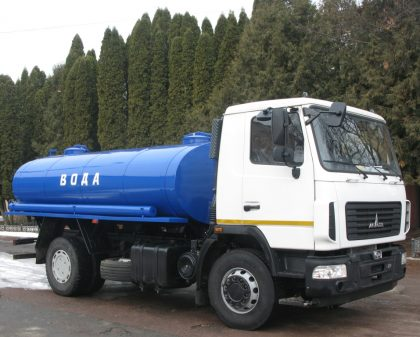 Trucks for transportation of food liquids