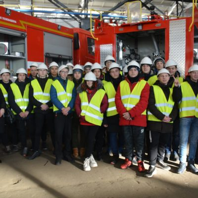 Excursion for future specialists in mechanical assembly work