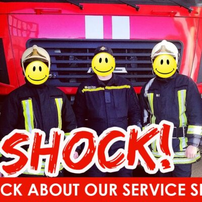 """Firefighters reveal the truth about the service """"Pozhmashina""""!"""