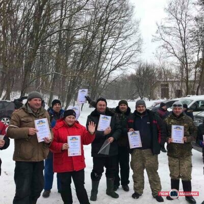"Weekend with benefits – winter fishing team ""POZHMASHINA"""